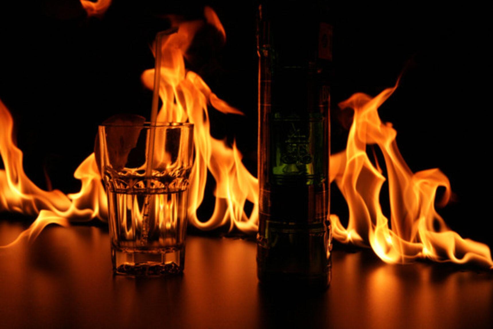 Fireshow, czyli taniec ognia na weselu