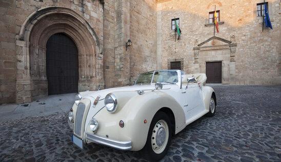 Auto do ślubu w trzech stylach