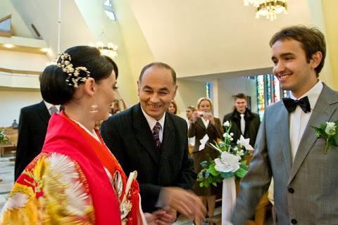 Joanna Misztela w dniu ślubu/fot. Dariusz Cierpiał