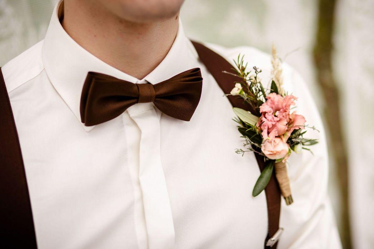 Organizacja wesela kwiaty do butonierki