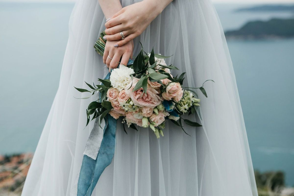 Organizacja wesela bukiet ślubny