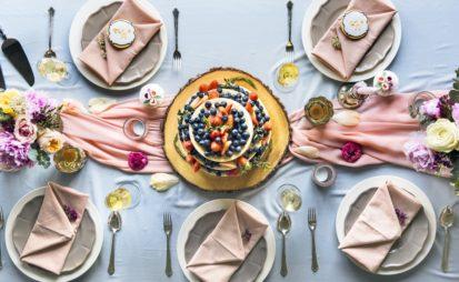 Dania weselne podano – obsługa i menu na wesele