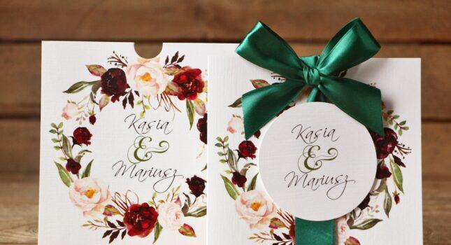 Zaproszenia ślubne i dodatki weselne - jak je wybrać?