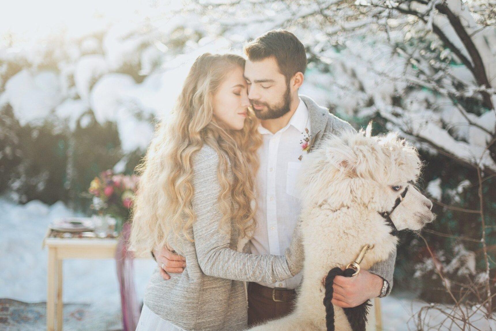 8 pomysłów na zaręczyny zimą