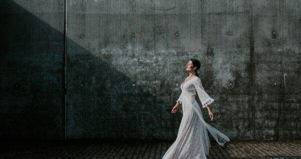 Suknia ślubna w stylu boho - wywiad z Martą Trojanowską
