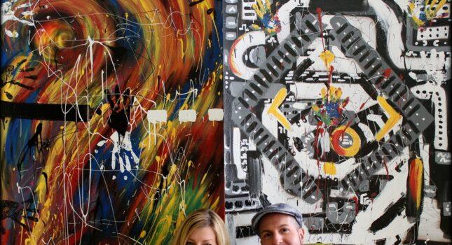 Zamień swoje wesele w dzieło sztuki! Live painting, czyli malowanie na żywo