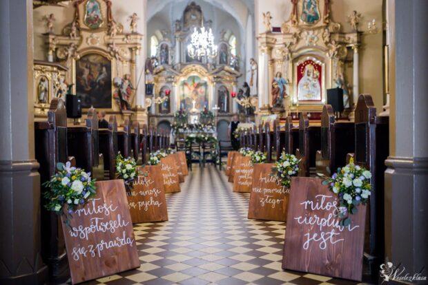 Najpiękniejsza i magiczna dekoracja kościoła na ślub!