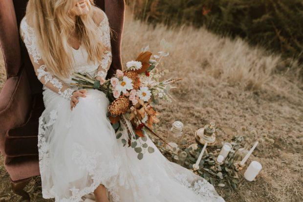 Suknia ślubna boho – czyli leśna nimfa idzie do ślubu!