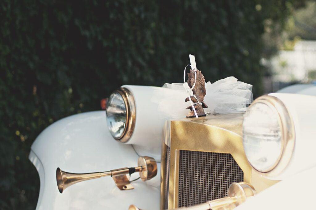 Auto ślubne w stylu vintage