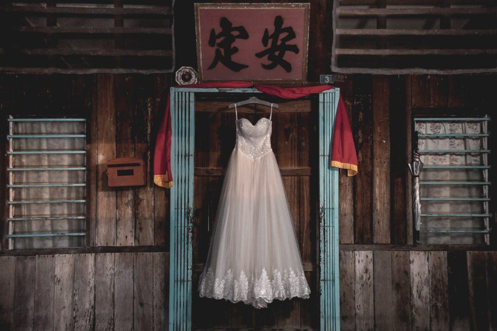 Sennik suknia ślubna biała