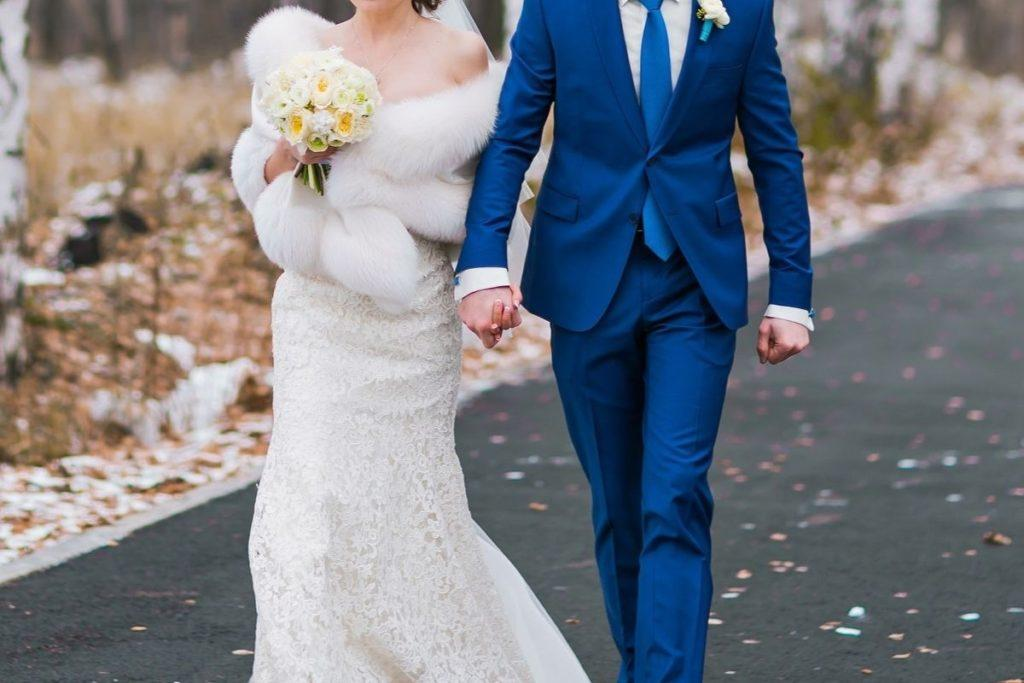 Etola ślubna - bolerko ślubne