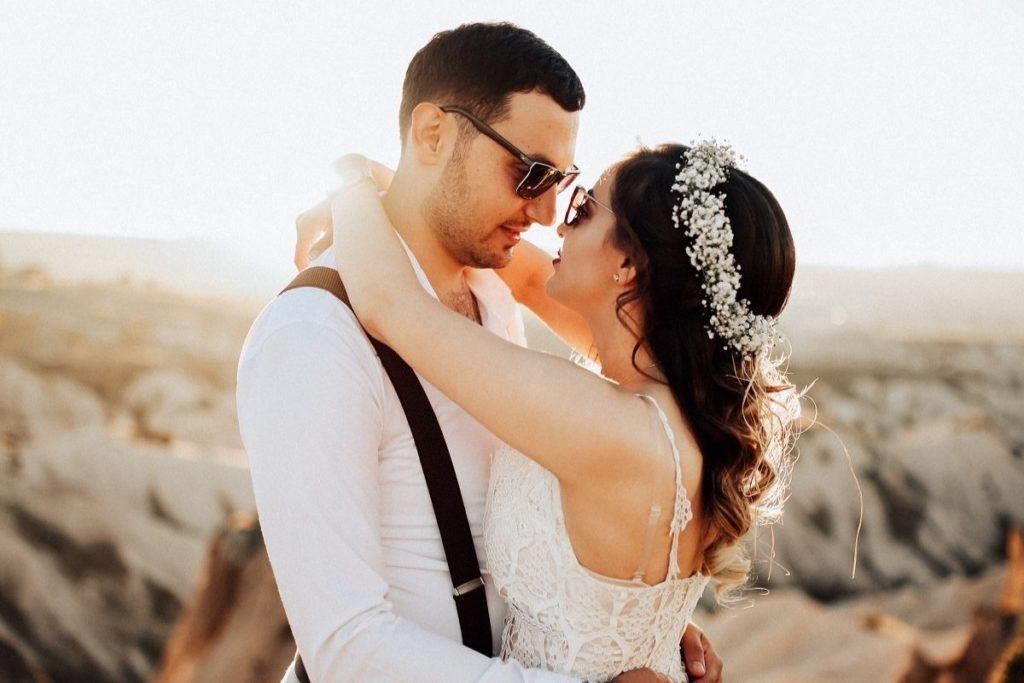 Ozdoby ślubne na włosy - wianek