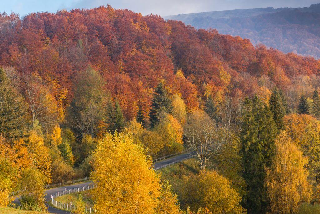 Bieszczady - romantyczne miejsca w Polsce