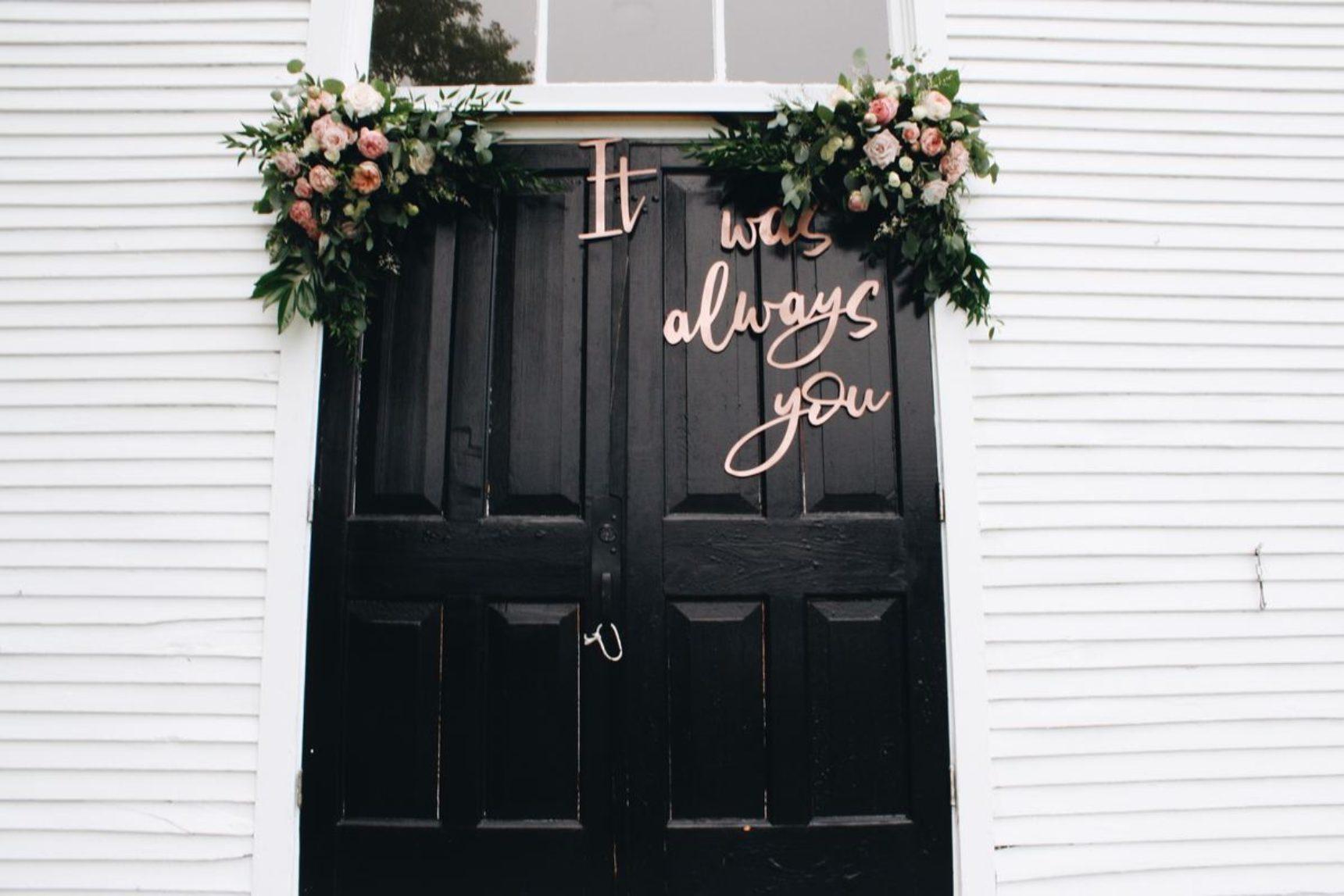Najpiękniejsze dekoracje ślubne domu panny młodej i pana młodego!