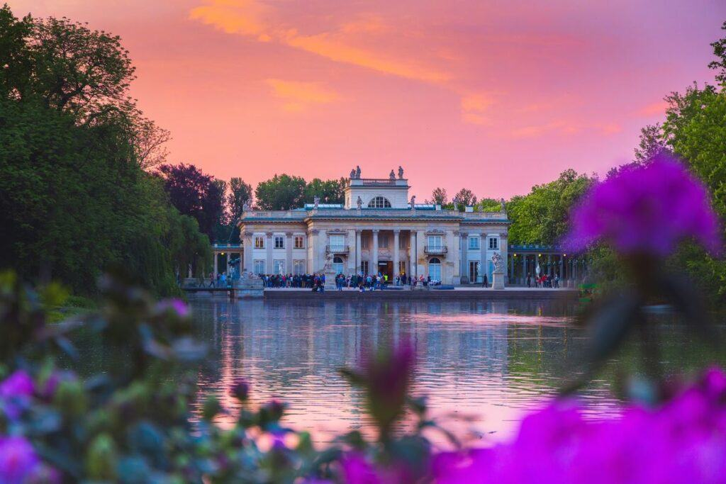Romantyczne miejsca w Polsce - Łazienki Królewskie