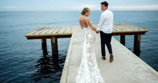 Suknia ślubna rybka - bądź zmysłową panną młodą!
