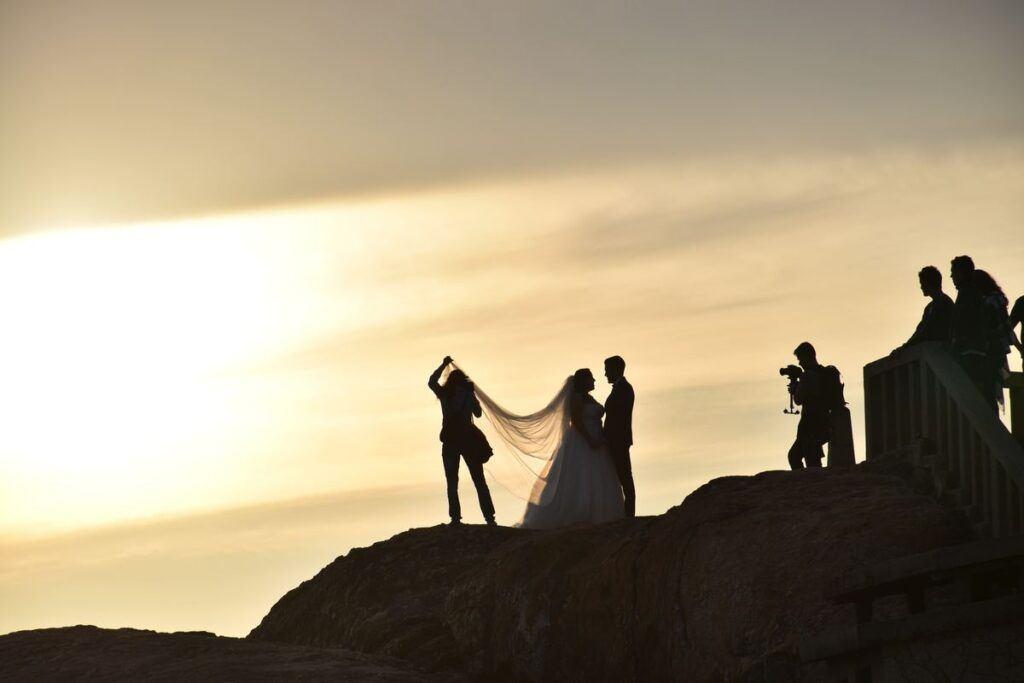 Reportaż ślubny z sesji zdjęciowej