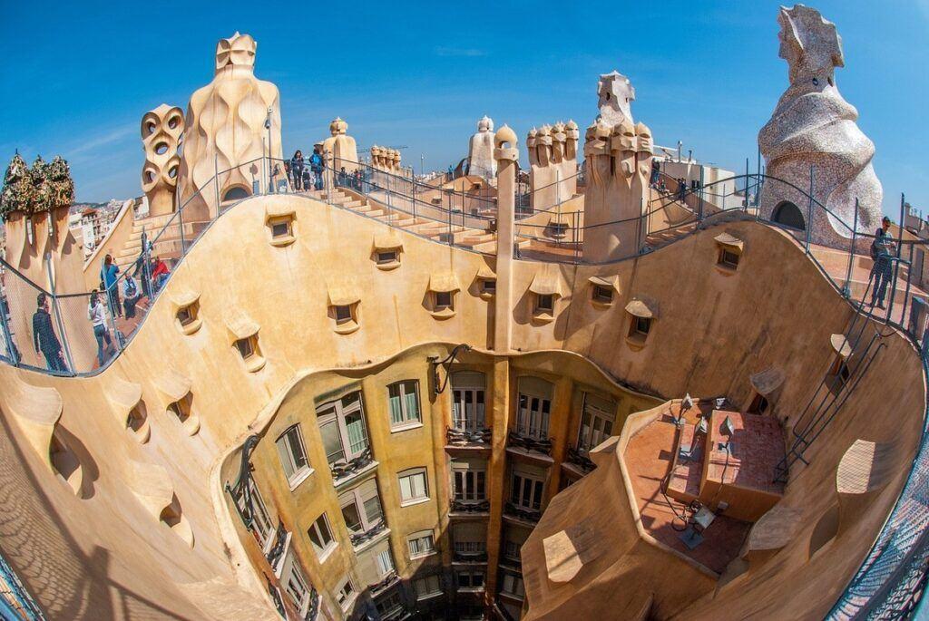 Barcelona - zwiedzanie Casa Battlo