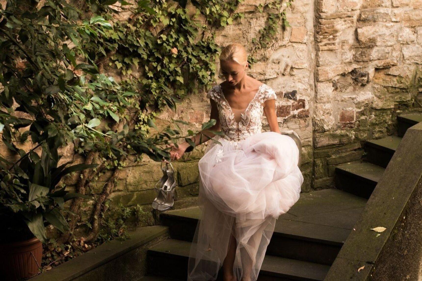 Suknia ślubna litera A – sprawdzony klasyk ukazujący atuty sylwetki!