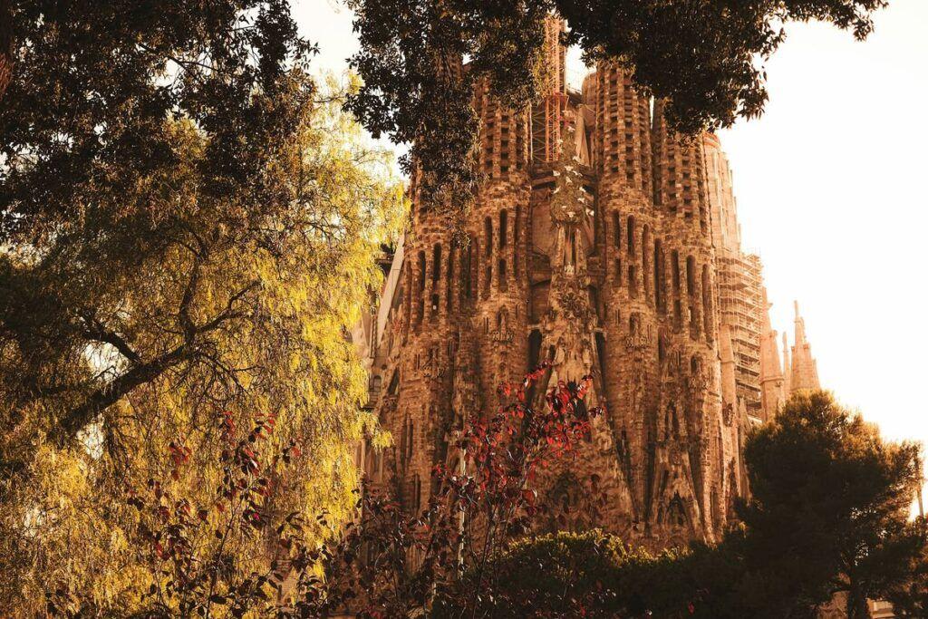 Barcelona - zwiedzanie bazyliki Sagrada Familia