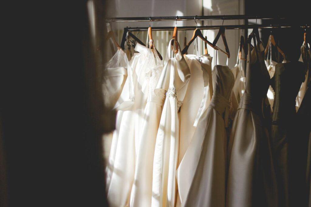 Uszyte suknie ślubne
