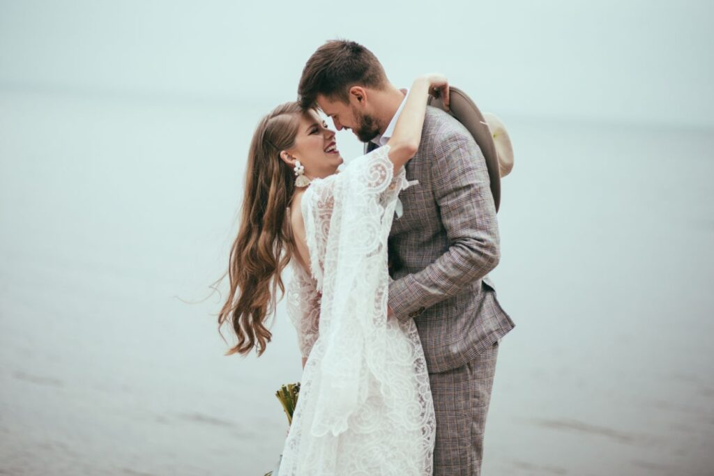 Ślub symboliczny na plaży