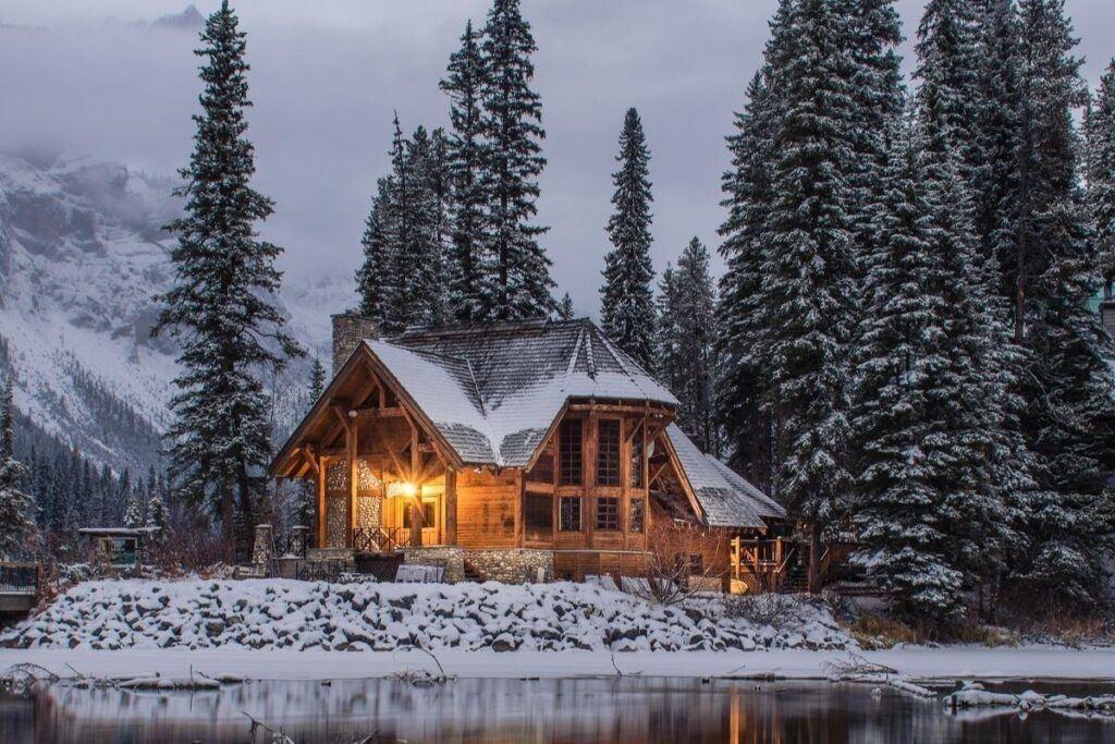 Wesele zimą w góralskiej chacie