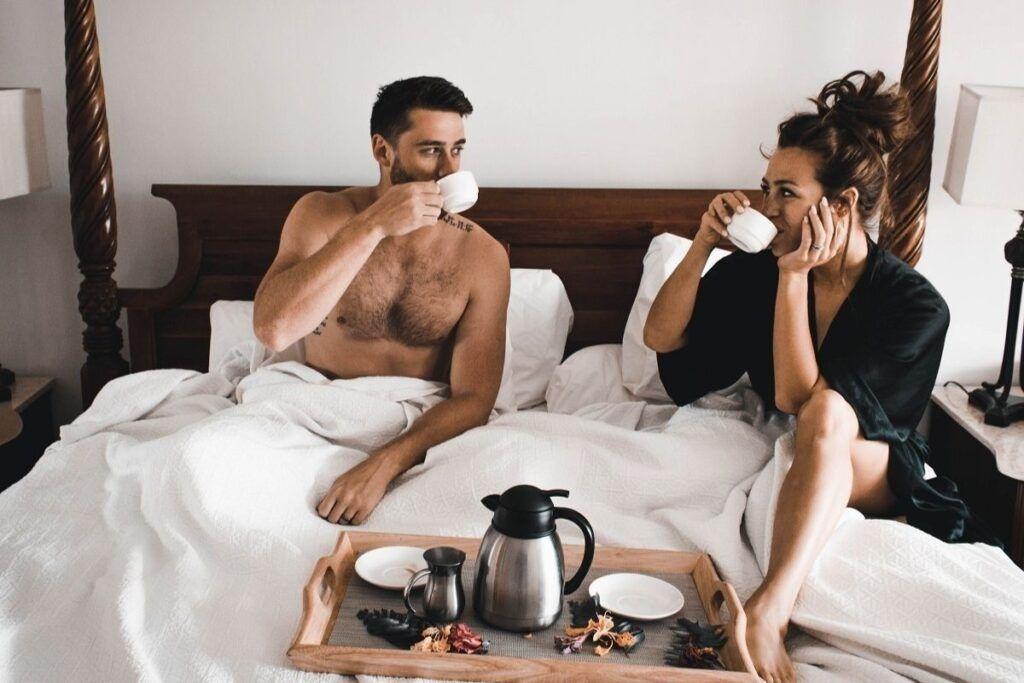 Miesiąc miodowy w łóżku