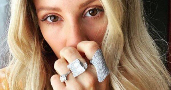 4 suknie ślubne Ellie Goulding! Która z nich jest najpiękniejsza?