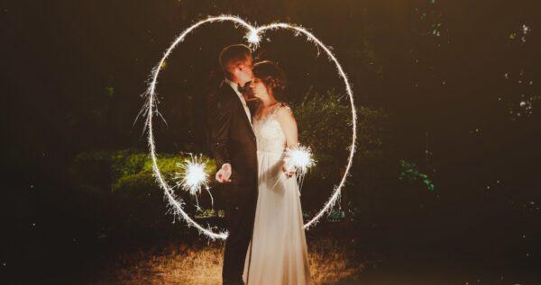 Zimne ognie na weselu - zdjęcia i inspiracje!