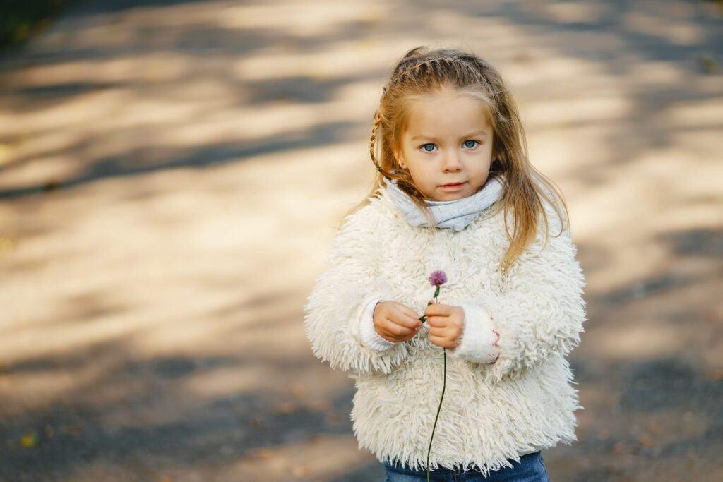 Warkoczyk jako fryzura dla dziewczynki