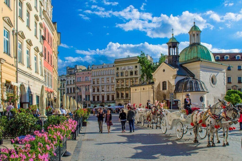Kraków to miejsce na zaręczyny w Polsce