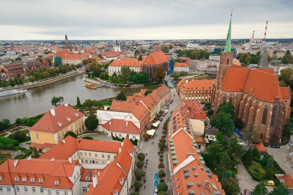 miejsce na zaręczyny w Polsce we Wrocławiu - Ostrów Tumski
