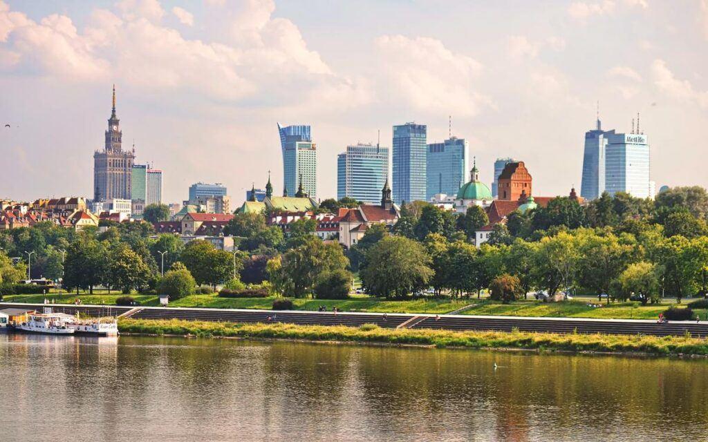 Ciekawe miejsca w Warszawie - bulwary