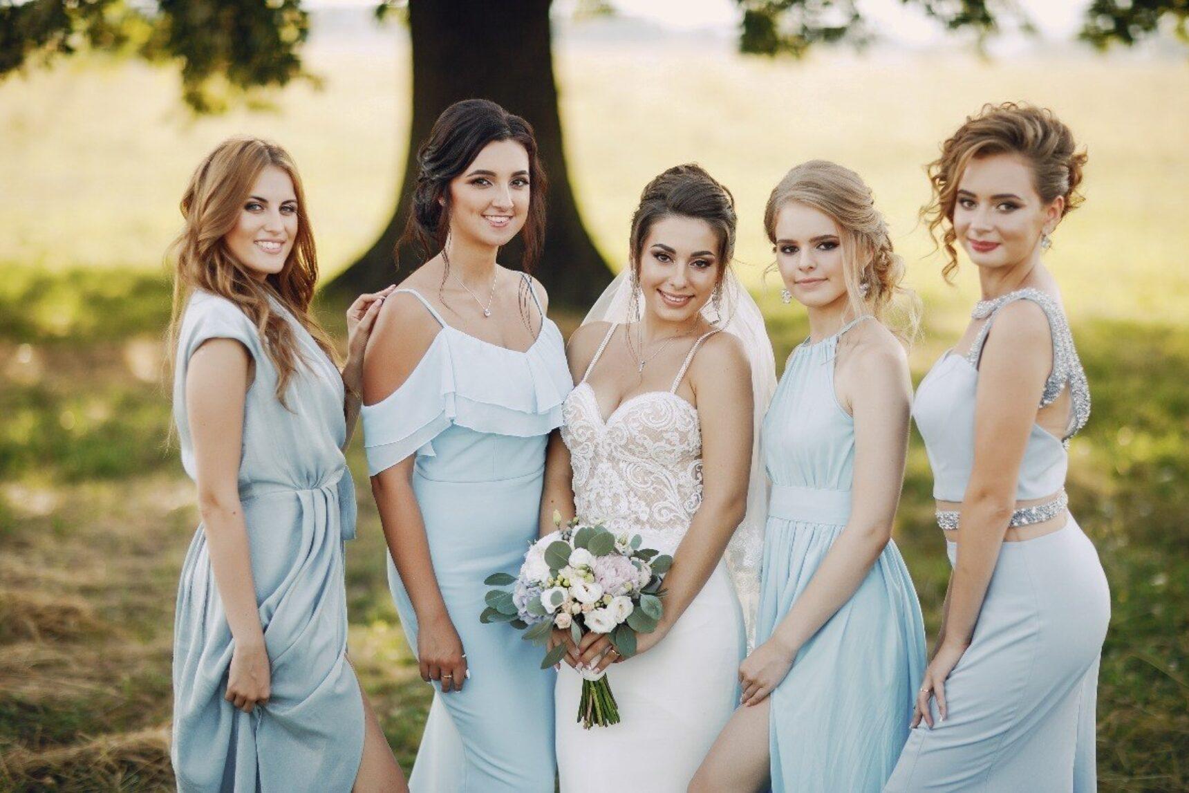 Druhny na ślubie – modne rozwiązanie z Ameryki, które możesz wykorzystać na swoim ślubie!