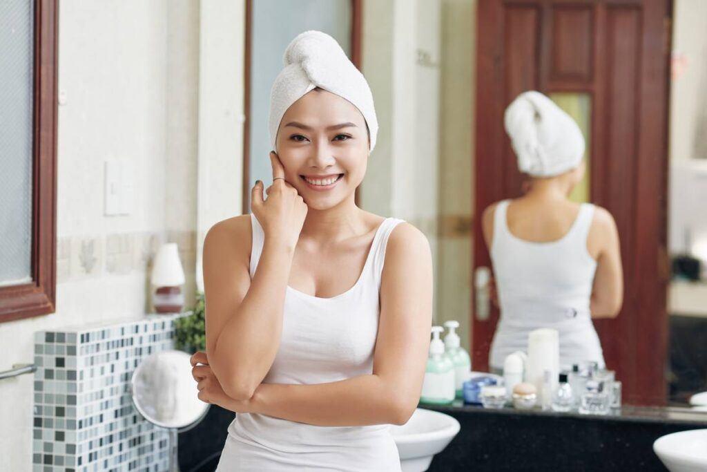 Oczyszczanie twarzy w domu