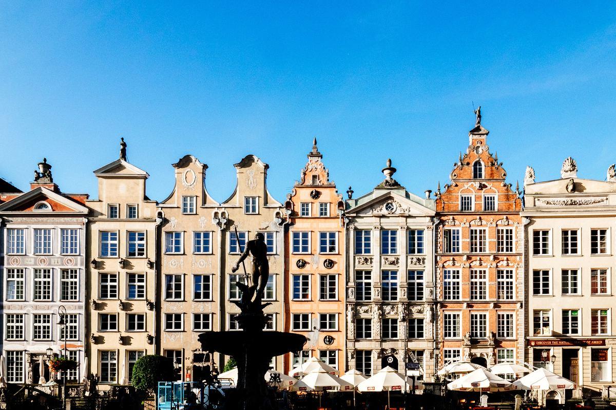 Ciekawe miejsca w Gdańsku - fontanna Neptuna