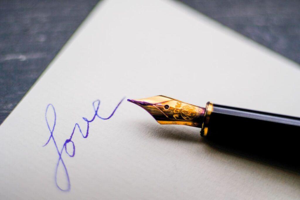 List miłosny jako prezent ślubny dla przyszłego męża i przyszłej żony. Jak go napisać?