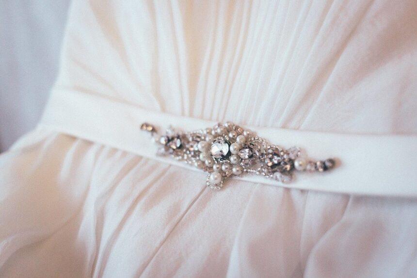 ceinture de robe de mariée