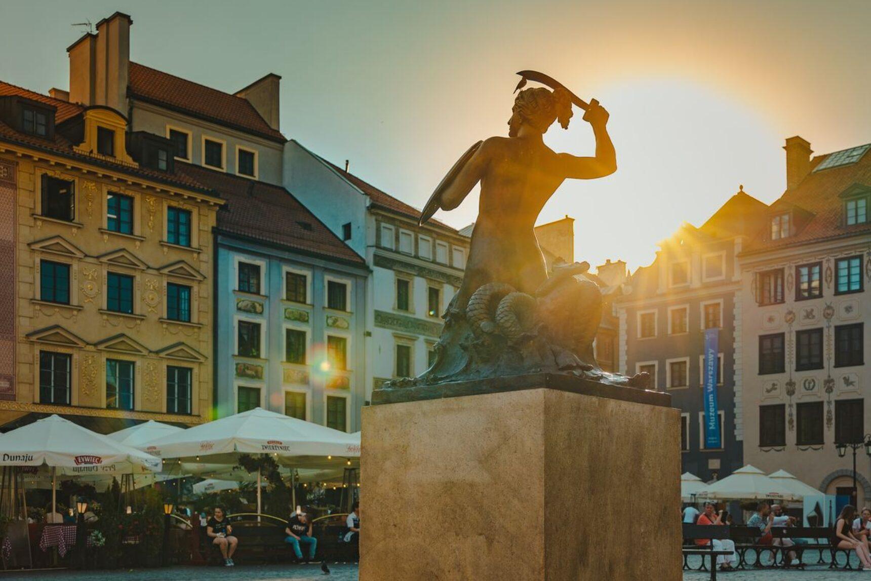 Ciekawe miejsca w Warszawie na sesję ślubną, randkę i spacer we dwoje!