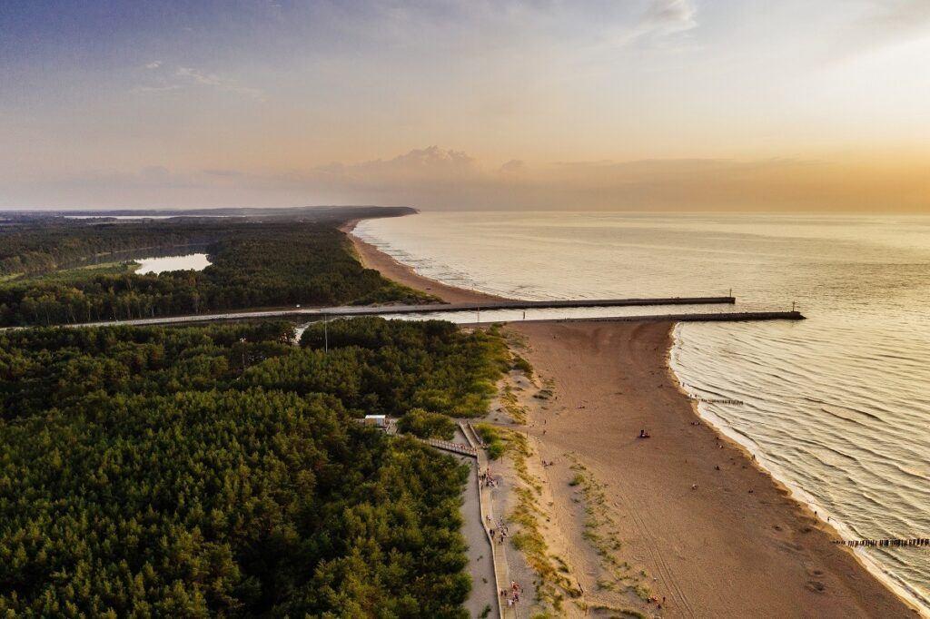 Podróż poślubna w Polsce nad morzem