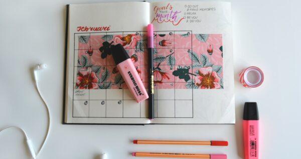 Bullet journal - połącz piękne z pożytecznym i bądź mistrzynią planowania we wspaniałym stylu!