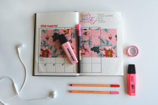 Bullet journal – połącz piękne z pożytecznym i bądź mistrzynią planowania we wspaniałym stylu!