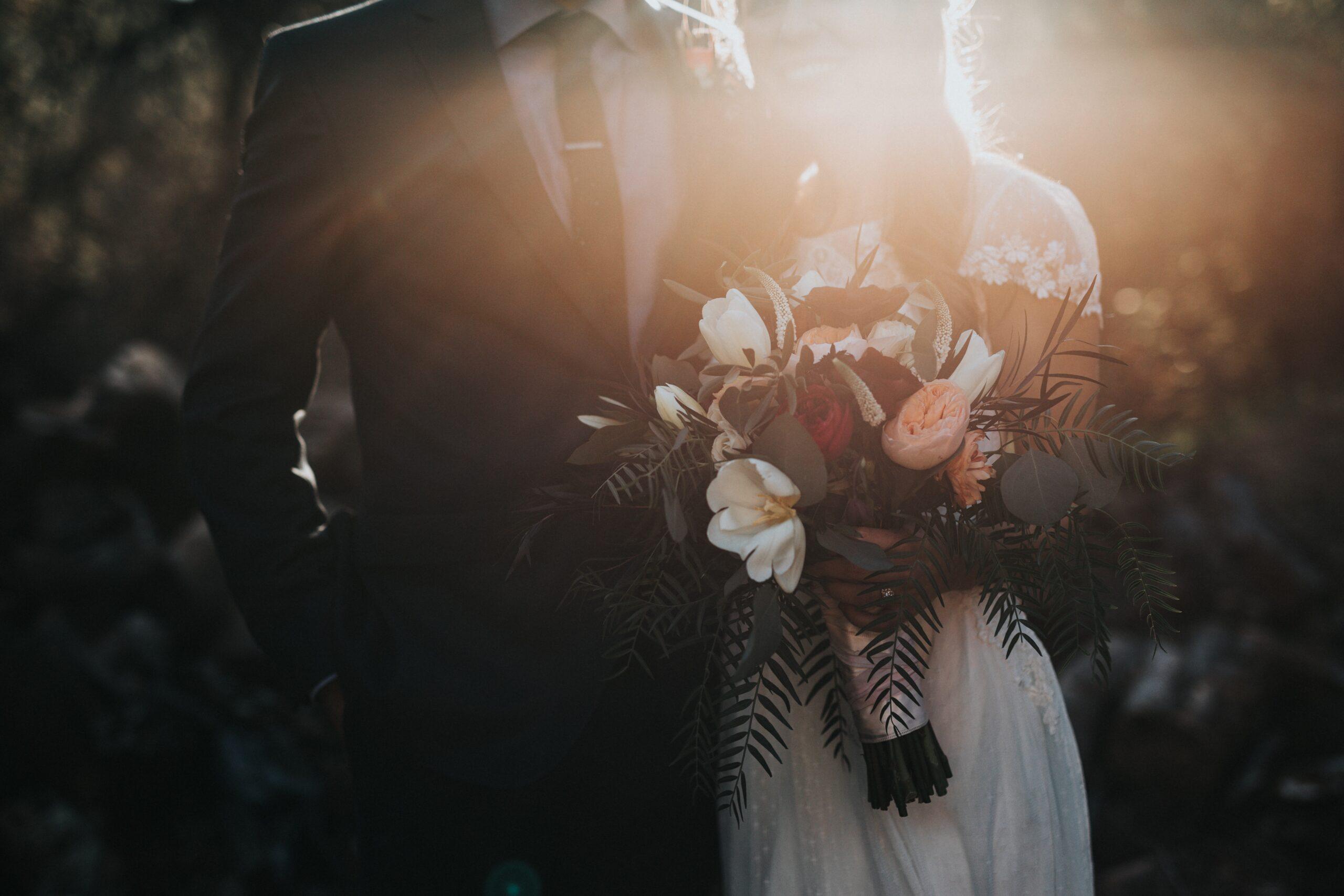 Pan Młody i Panna Młoda podczas wesela