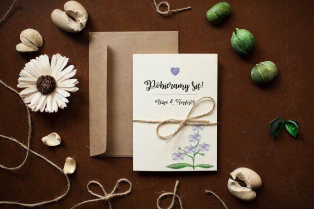 Wybierz zaproszenia na ślub idealnie dopasowane do twojego stylu weselnego!