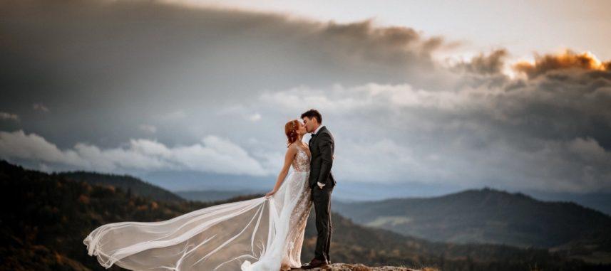 Sesja ślubna w górach – miejsce na niezapomniany plener