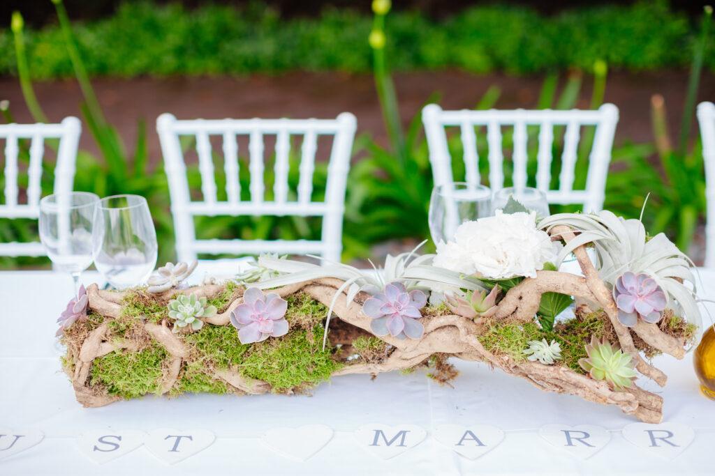 wesele w stylu tropikalnym