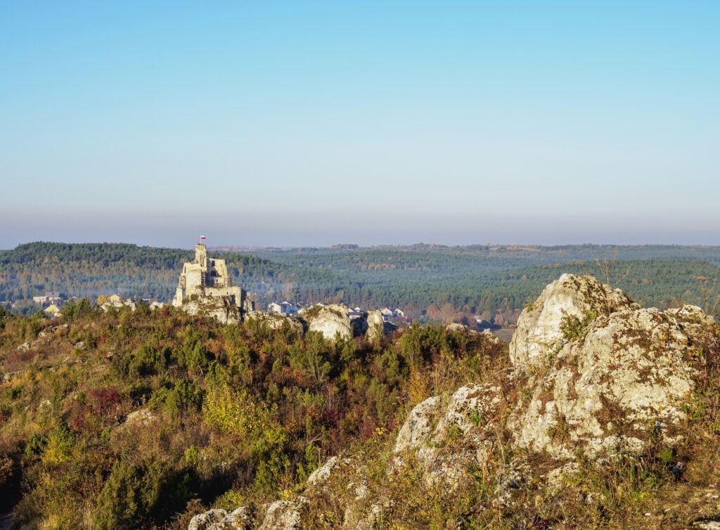 Jura krakowsko-częstochowska atrakcje - zamek w Mirowie