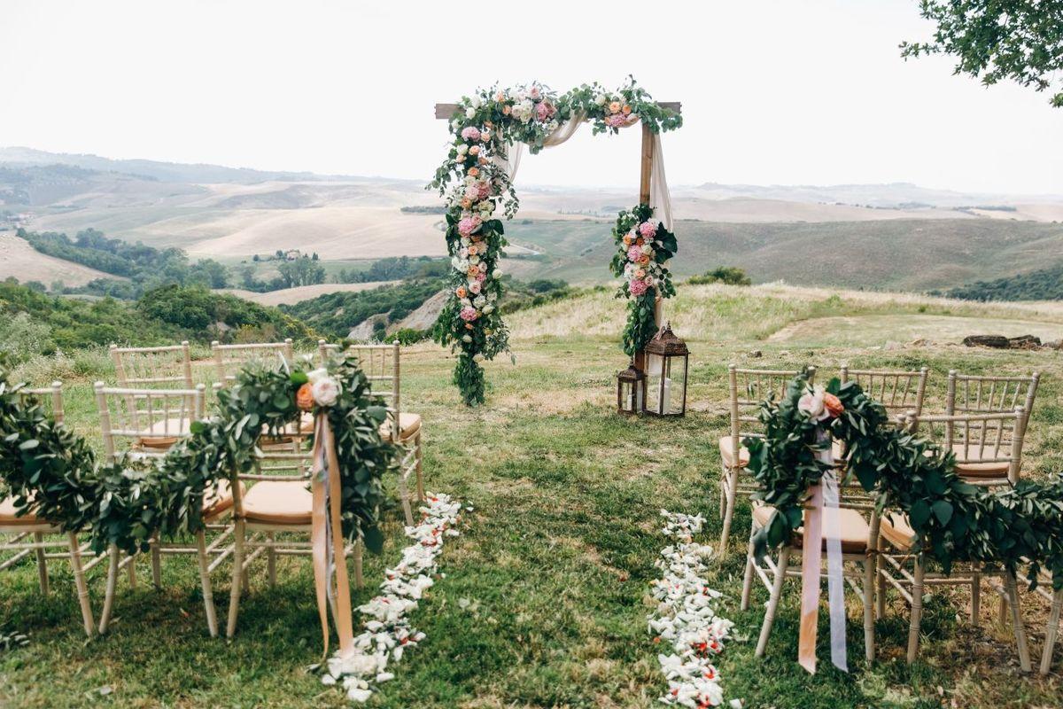 organizacja wesela ślub w plenerze