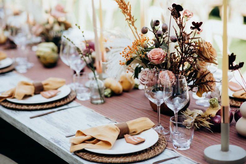 organizacja wesela dekoracje stołów